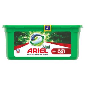 Ariel Allin1 Pods +OXI Effect Kapsle Na Praní 25 Praní