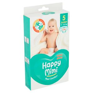 Happy Mimi Flexi Comfort dětské plenky 5 junior 2 ks
