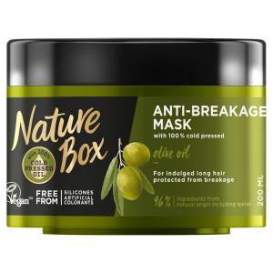 Nature Box maska proti lámavosti vlasů Olive Oil 200ml