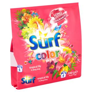 Surf Color tropical prací prášek na barevné prádlo 4 dávky