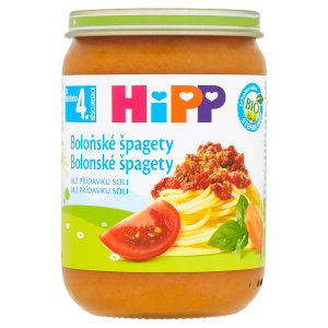 HiPP Bio boloňské špagety 190g
