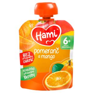 Hami ovocná kapsička Pomeranč a mango od uk. 6. měsíce 90g