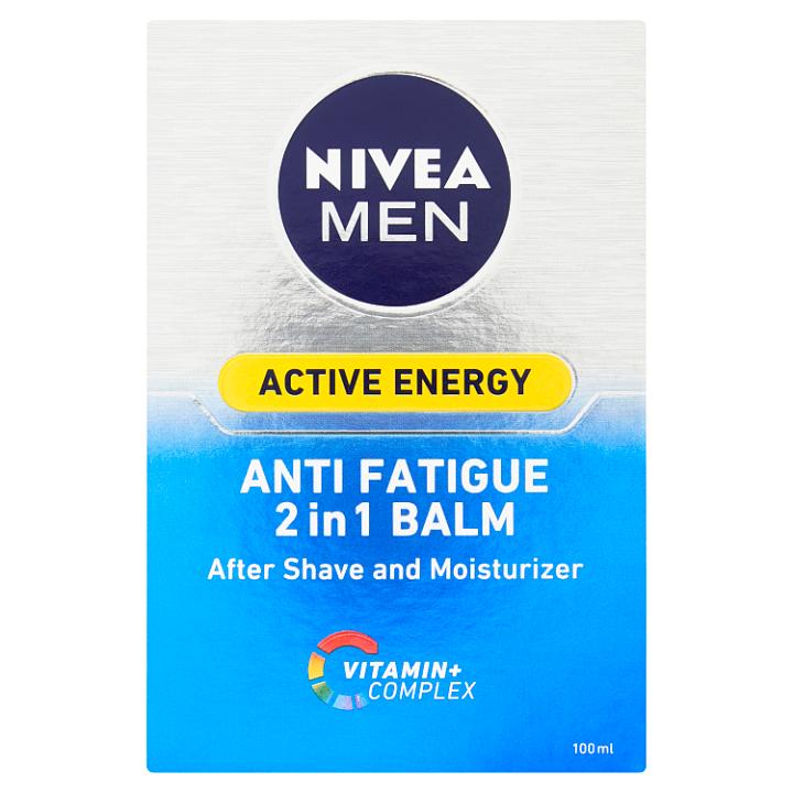 Nivea Men Active Energy Balzám po holení 2 v 1 100ml