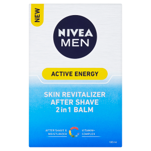 Nivea Men Active Energy Revitalizační balzám po holení 2 v 1 100ml