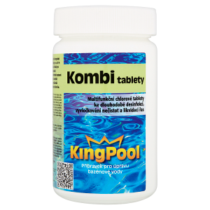 KingPool Kombi tablety 1kg