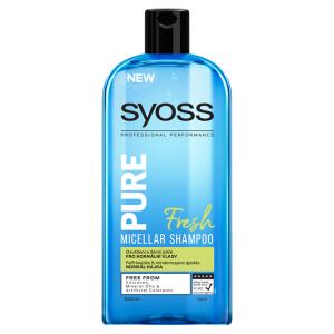 Syoss Pure Fresh micelární šampon 500ml
