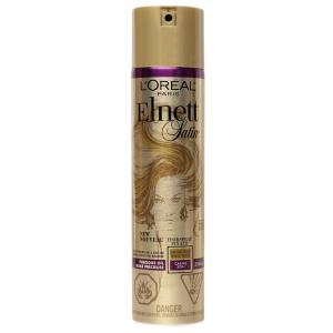 L'Oréal Paris Elnett Satin lak na vlasy silná fixace s arganovým olejem, 250 ml