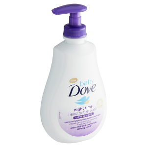 Baby Dove Mycí gel na tělo i vlásky Night time 400ml