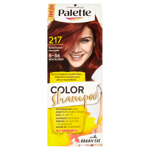 Schwarzkopf Palette Color Shampoo barva na vlasy Mahagonový 217