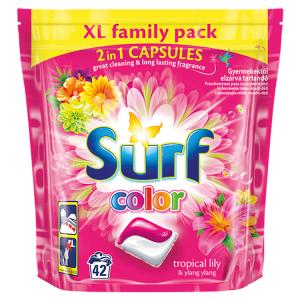 Surf Color tropical prací duo-kapsle na barevné prádlo 42 dávek