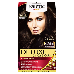 Schwarzkopf Palette Deluxe barva na vlasy Tmavě Hnědý 800