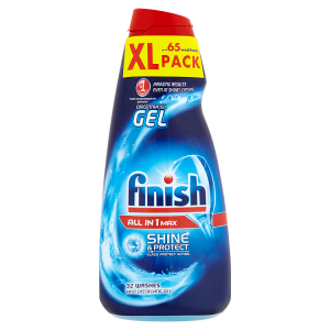 Finish All in 1 Max Shine & Protect gel do myčky nádobí 2 x 650ml