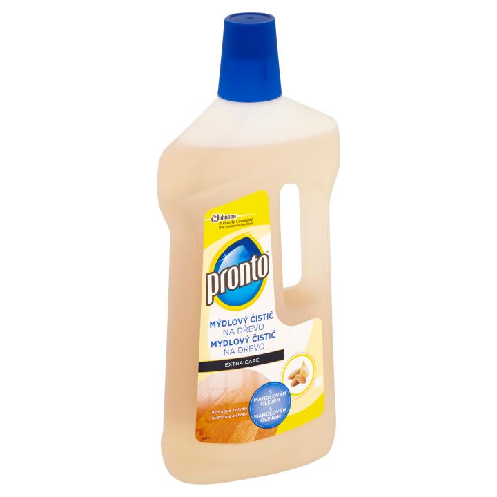 Pronto Extra Care mýdlový čistič na dřevo s mandlovým olejem 750ml