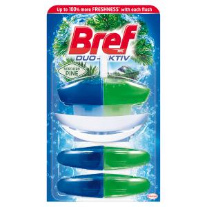 Bref Duo-Aktiv Northern Pine tekutý WC blok náhradní náplň 3 x 50ml