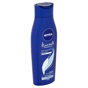 Nivea Hairmilk Pečující šampon pro normální až silné vlasy 400ml
