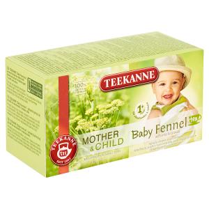 TEEKANNE Baby Tea 1+, Bylinný čaj s fenyklem, anýzem a kmínem, 20 sáčků, 36g