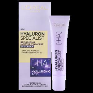 L'Oréal Paris Hyaluron Specialist oční krém, 15 ml