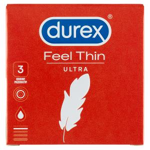 Durex Feel Thin Ultra kondomy 3 ks