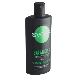 Syoss šampon Balancing pro všechny typy vlasů a vlasových pokožek 440ml