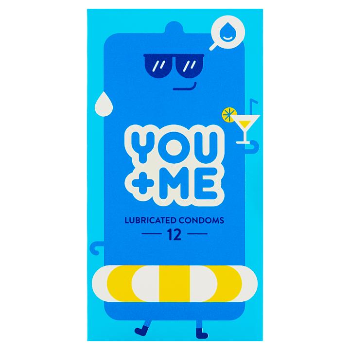 You Me Lubricated kondomy, 12 ks