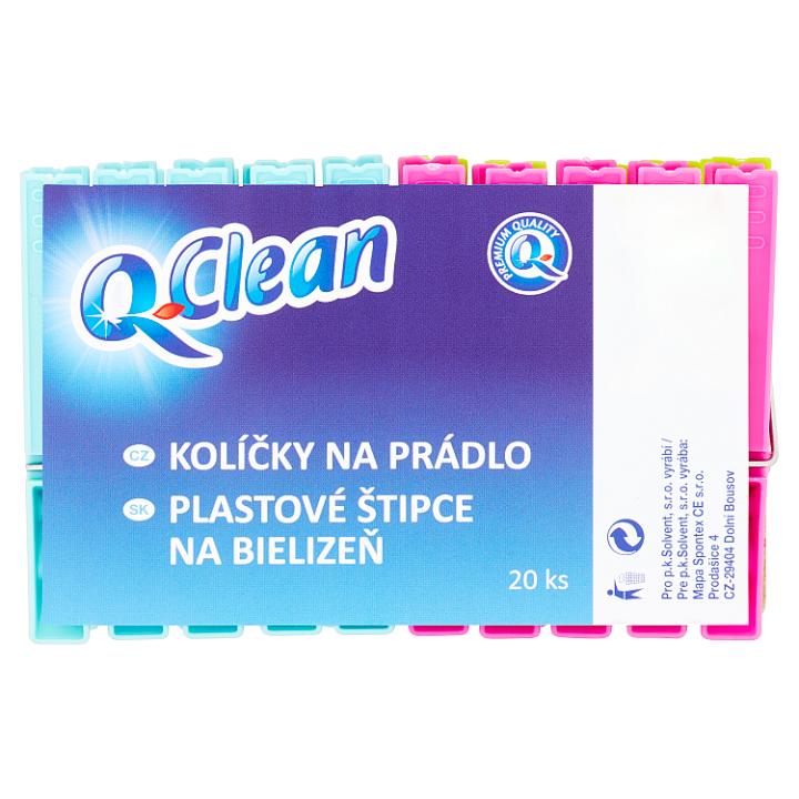 Q-Clean Kolíčky na prádlo 20 ks Q-Clean