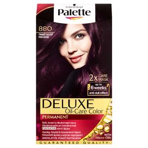Palette Deluxe Dlouhotrvající barva tmavě fialový 880
