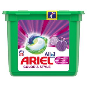 Ariel All-In-1 PODs +Technologie Ochrany Vláken Kapsle Na Praní, 23 Praní