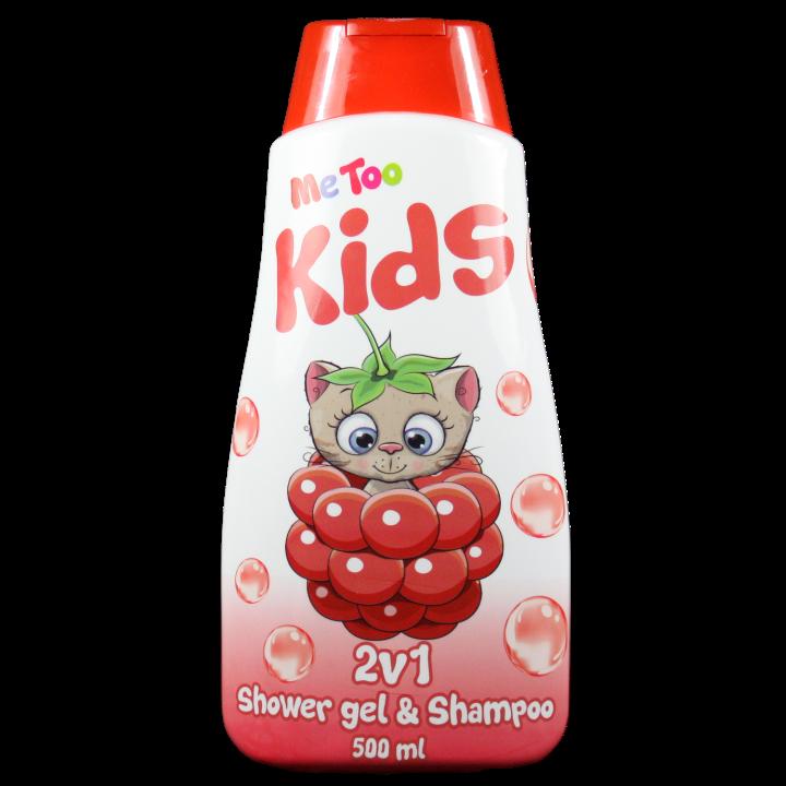 E-shop Me Too 2v1 Sprchový gel a Šampón Raspbery Kitten 500 ml