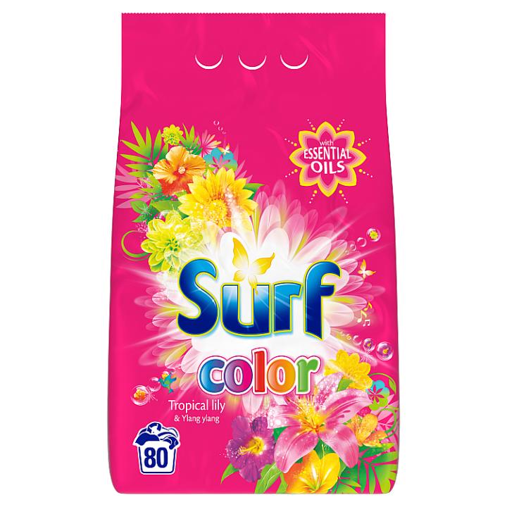 Surf Color tropical prací prášek na barevné prádlo 80 dávek