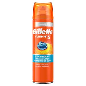 Gillette Fusion5 Ultra Moisturiz Pánský Gel Na Holení 200ml