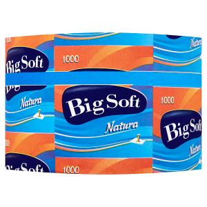 Big Soft Natura toaletní papír 1-vrstvy 1 ks