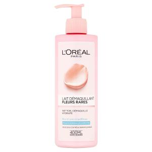 L'Oréal Paris Odličovací mléko s výtažky vzácných květů pro normální až smíšenou pleť 400ml