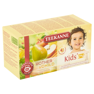 TEEKANNE Kids Tea 4+, ovocno-bylinný čaj, 20 sáčků, 45g