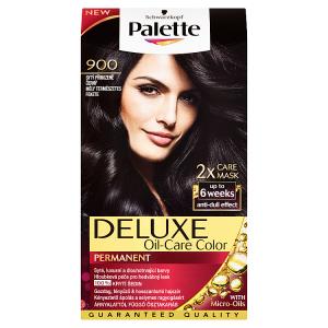 Schwarzkopf Palette Deluxe barva na vlasy Sytý Přirozeně Černý 900