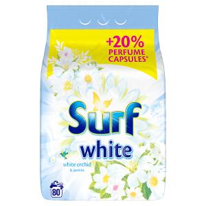 Surf White Orchid prášek na praní 80 praní