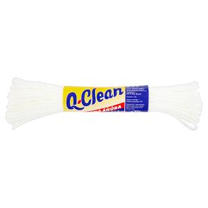 Q-Clean Pletená šňůra na prádlo 15m