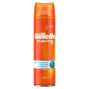 Gillette Fusion5 Ultra Sensit&Cool Pánský Gel Na Hol 200ml