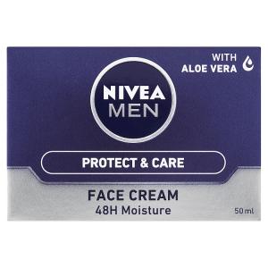 Nivea Men Protect & Care 48h hydratační pleťový krém 50ml