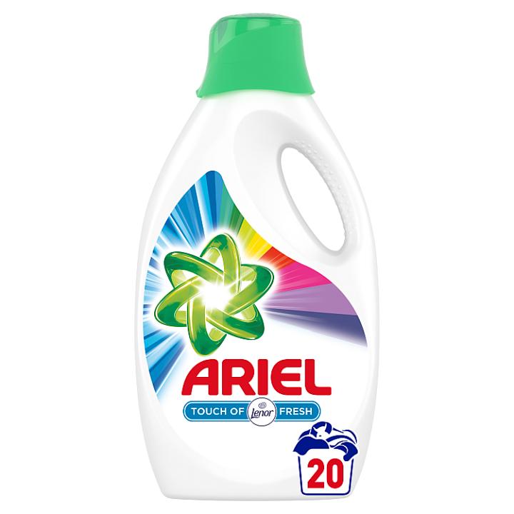 Ariel Touch Of Lenor Color Tekutý Prací Prostředek 1.1l, 20 Praní