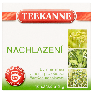 TEEKANNE Nachlazení, bylinná směs, 10 sáčků, 20g