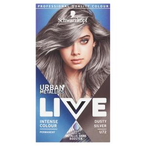 Schwarzkopf Live Urban Metallics barva na vlasy Dusty Silver U72