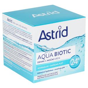Astrid Aqua Biotic Denní a noční krém pro normální a smíšenou pleť 50ml