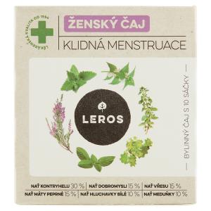 Leros Ženský čaj klidná menstruace bylinný čaj 10 x 1,5g (15g)