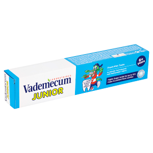 Vademecum Junior zubní pasta pro stálé zuby 6+ Fresh Mint Taste 75ml