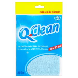 Q-Clean Švédská utěrka mikrovlákno 30x35cm 280g