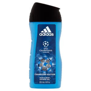 Adidas UEFA Champions League Champions Edition sprchový gel na tělo a vlasy pro muže 250ml
