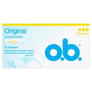 O.B. Original Tampony normal 32 ks