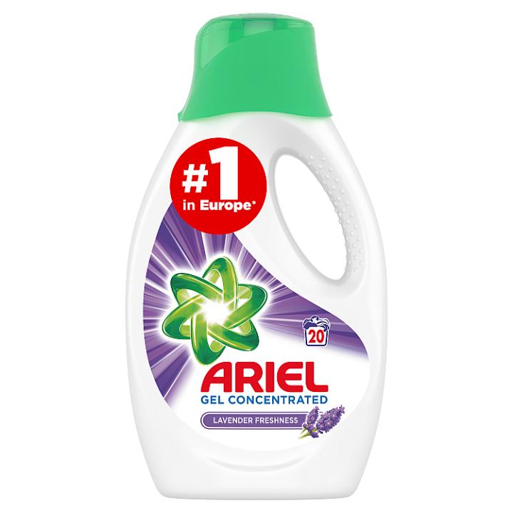 Ariel Lavender Tekutý Prací Prostředek 1.1l, 20 Praní