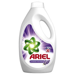 Ariel Lavender Tekutý Prací Prostředek 1,1l, 20Praní
