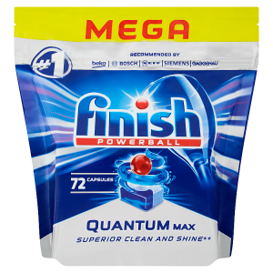 Finish Powerball Quantum Max tablety do myčky 72 ks 1116g